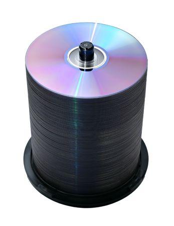 100 discs in the cake box photo