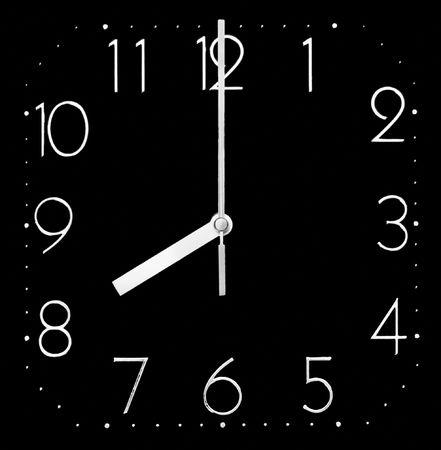 mict: Office clock Stock Photo