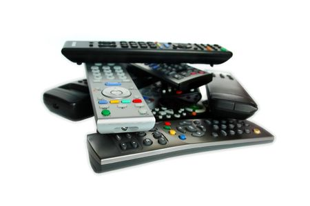 vcr: A lot of remote control devices