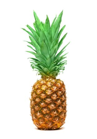 Pineapple isolated on white background Stock Photo - 6788531