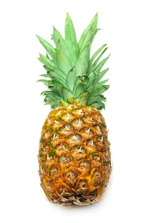 Pineapple isolated on white Stock Photo - 6852499