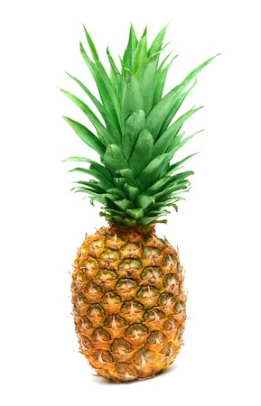pineapple isolated on white background Stock Photo - 6984311