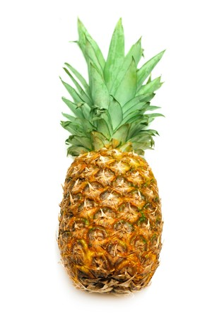 Pineapple isolated on white Stock Photo - 6984315