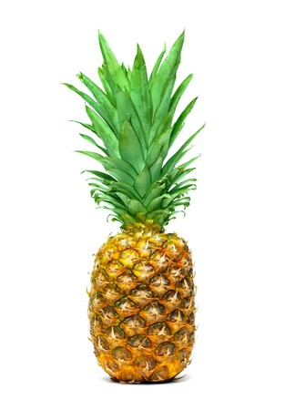 Pineapple isolated on white background Stock Photo - 7163308