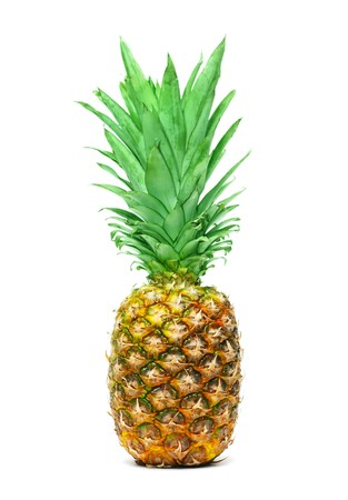 Pineapple isolated on white background Stock Photo - 7163306