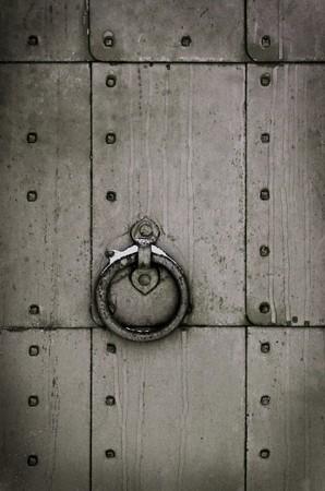 Grunge metal door Stock Photo - 7163355