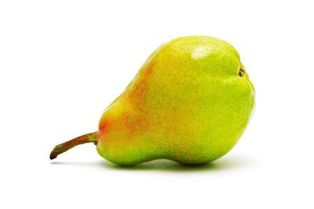 Single ripe pear isolated on white background Stock Photo - 7163260