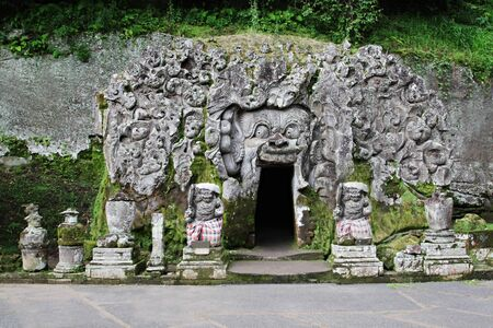 Goa Gajah Temple (The Elephant Cave Temple) in Bali Indonesia. Stock Photo - 10085707