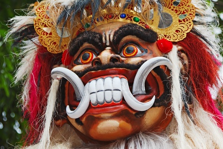 Balinese ogoh-ogoh monster at Balinese New Year