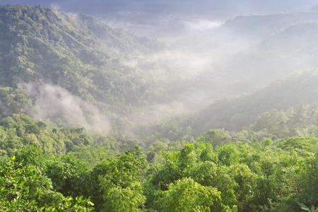 Landscape into Batur volcano, Bali, Indonesia photo