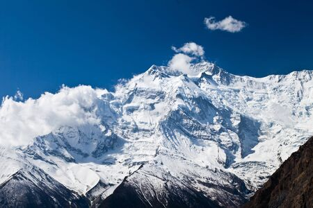 Beautiful Annapurna mountain, Himalaya, Nepal photo