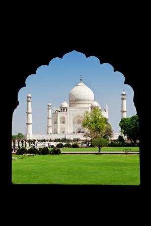 uttar: Taj Mahal, Agra, Uttar Pradesh, India