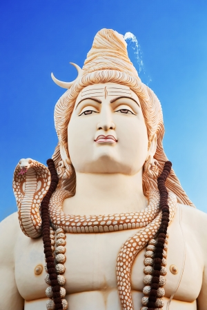 hindu god shiva: Lord Shiva Statue, Bangalore, India