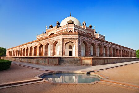 Humayuns Tomb, New Delhi, India