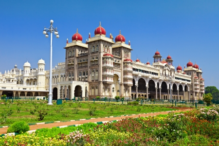 Mysore Palace, Mysore, Karnataka state, India Stock Photo - 15547316