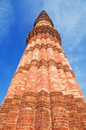 minar: Qutb Minar, New Delhi, India Stock Photo