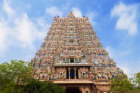 tamil nadu: Menakshi Temple, Madurai, Tamil Nadu, India