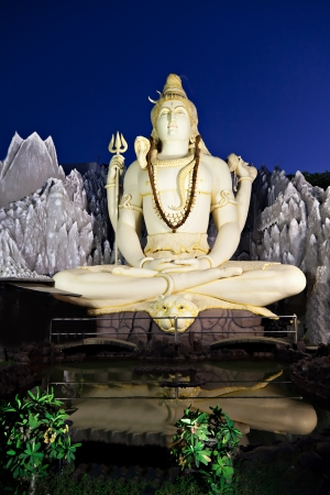 Lord Shiva Statue, Bangalore, India photo