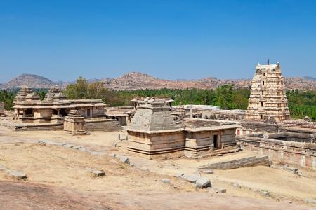 karnataka: Templo Virupaksha, Hampi, estado de Karnataka, India