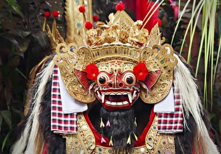 ubud: UBUD, BALI, INDONESIA - APRIL 01: Barong Dance show, the traditional balinese performance on April 01, 2011 in Ubud, Bali, Indonesia.