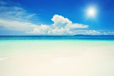 krabi: Bella spiaggia solitaria nella provincia di Krabi, Thailand