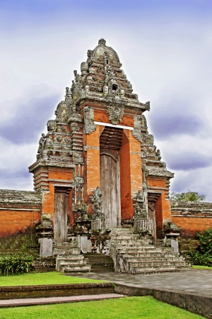 Entrance to the balinese temple