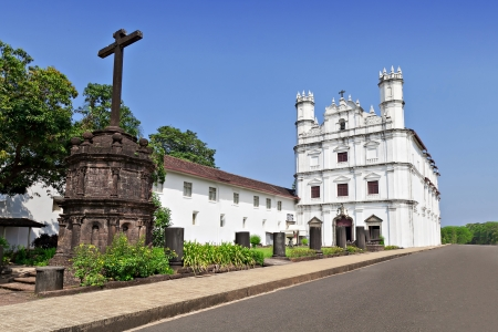 Church of St. Francis of Assisi, old Goa, India photo