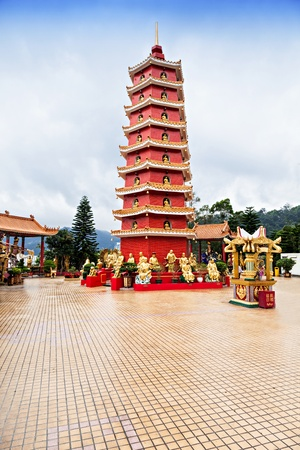 Ten Thousand Buddhas Monastery (Man Fat Tsz) in Sha Tin, Hong Kong photo
