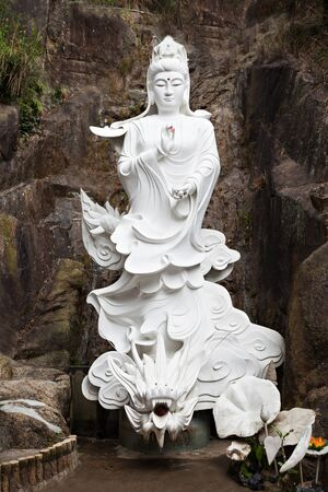 HONG KONG, CHINA - MARCH 19: Statue at Ten Thousand Buddhas Monastery in Hong Kong on March, 19, 2013, Hong Kong, China. Its one of the most popular tourist destination in Hong Kong