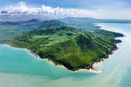 Beauty islands, view from the plane Stock Photo - 22094074