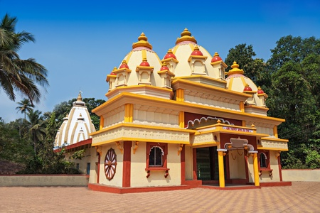 shree: Beauty hindu temple in Ponda, Goa, India