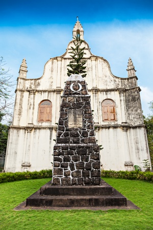 st  francis: Tomb at St. Francis Church, place where Vasco De Gama died, Cochin, India