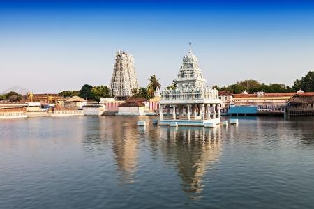 hindu god shiva: Thanumalayan Temple Suchindram, Kanyakumari, Tamil Nadu, India Stock Photo
