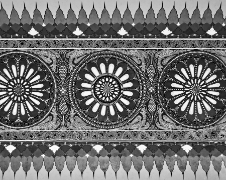 universally: AGRA, INDIA - MARCH 23: Pattern on Taj Mahal on March 23, 2012 in Agra, India. Taj Mahal is widely recognized as the jewel of Muslim art and one of the universally masterpieces of the world