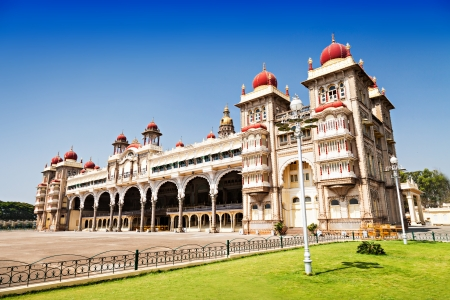 Amba Vilas Mysore Palace in Mysore, India Фото со стока