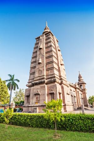 vihara: Mulagandhakuti Vihara Temple in Sarnath, Varanasi, India