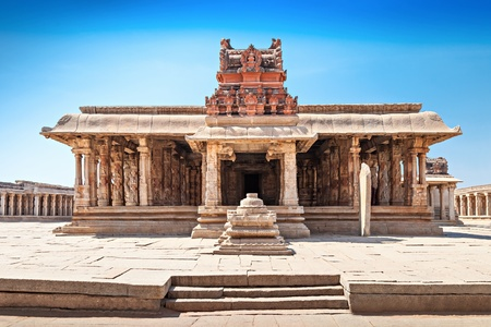 Virupaksha hindu temple and ruins, Hampi, India photo