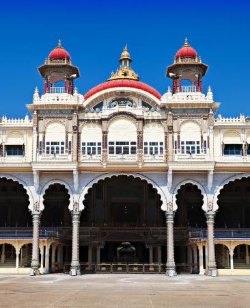 maharaja: Mysore Palace, Mysore, Karnataka state, India Editorial