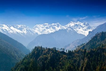 Beautiful landscape in Himalayas, Annapurna area, Nepal Stock Photo - 22100650
