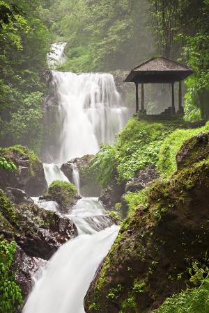 Beauty waterfall on Bali island Stock Photo - 22100726