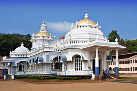 Beauty white hindu temple, India Stock Photo - 22100834