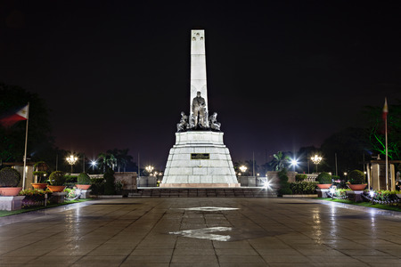 philippine: Monument of Jose Rizal - Filipino nationalist, writer and revolutionary Editorial