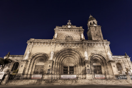 spaniards: Manila Cathedral, Intramuros, Manila, Philippines