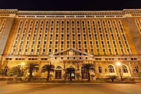 MANILA, PHILIPPINES - MARCH 16: Palacio del Gobernador in Intramuros on March, 16, 2013, Manila, Philippines. Intramuros is a one of the most popular tourist destination in Manila.
