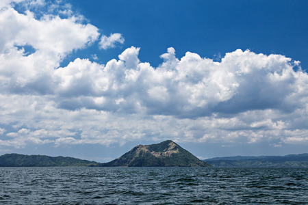 Taal - the smallest in the world volcano, Manila, Philippines photo