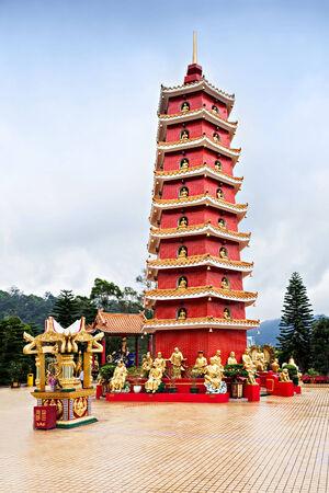 Ten Thousand Buddhas Monastery (Man Fat Tsz) in Sha Tin, Hong Kong