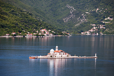 Gospa od Skrpjela (Our Lady of the Rocks), Perast Stock Photo - 28102071