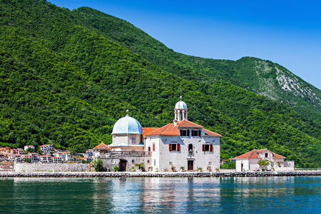 Gospa od Skrpjela (Our Lady of the Rocks), Perast Stock Photo - 28102075