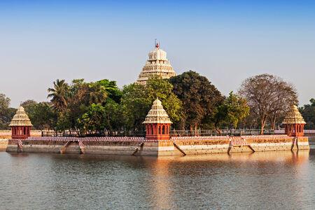 mariamman: Vandiyur Mariamman Teppakulam Temple in Madurai, India