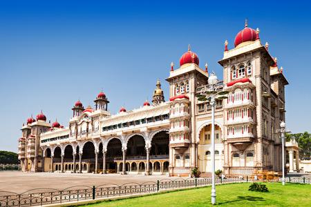 tudor: Amba Vilas Mysore Palace in Mysore, India Editorial